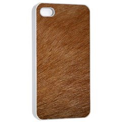Dog Fur Apple Iphone 4/4s Seamless Case (white) by trendistuff