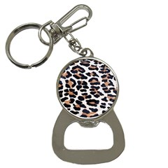 Black And Brown Leopard Bottle Opener Key Chains by trendistuff