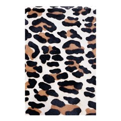 Black And Brown Leopard Shower Curtain 48  X 72  (small)  by trendistuff