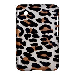 Black And Brown Leopard Samsung Galaxy Tab 2 (7 ) P3100 Hardshell Case  by trendistuff