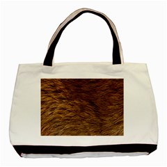 Bear Fur Basic Tote Bag (two Sides)  by trendistuff