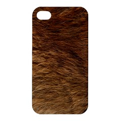 Bear Fur Apple Iphone 4/4s Premium Hardshell Case by trendistuff