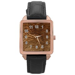 Bear Fur Rose Gold Watches by trendistuff