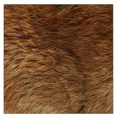 Bear Fur Large Satin Scarf (square) by trendistuff