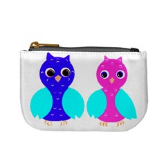 Owl Couple  Mini Coin Purses by JDDesigns
