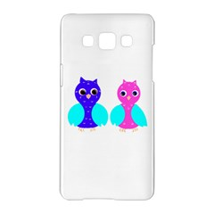 Owl Couple  Samsung Galaxy A5 Hardshell Case  by JDDesigns