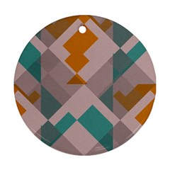 Pieces Ornament (round) by LalyLauraFLM