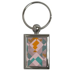 Pieces Key Chain (rectangle) by LalyLauraFLM