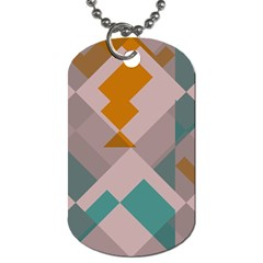 Pieces Dog Tag (one Side) by LalyLauraFLM