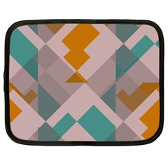 Pieces Netbook Case (xxl) by LalyLauraFLM