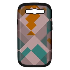 Pieces Samsung Galaxy S Iii Hardshell Case (pc+silicone) by LalyLauraFLM