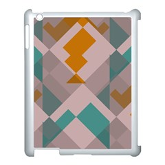 Pieces Apple Ipad 3/4 Case (white) by LalyLauraFLM
