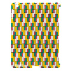 Connected Rectangles Pattern Apple Ipad 3/4 Hardshell Case (compatible With Smart Cover) by LalyLauraFLM