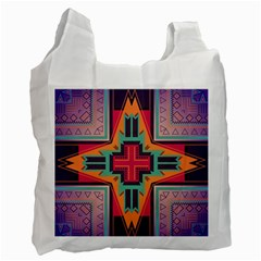 Tribal Star Recycle Bag (two Side)
