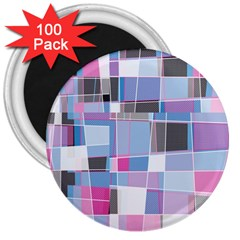 Patches 3  Magnet (100 Pack) by LalyLauraFLM