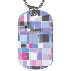 Patches Dog Tag (two Sides) by LalyLauraFLM