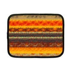Fading Shapes Texture Netbook Case (small) by LalyLauraFLM