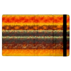 Fading Shapes Texture Apple Ipad 2 Flip Case by LalyLauraFLM