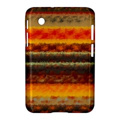 Fading Shapes Texture Samsung Galaxy Tab 2 (7 ) P3100 Hardshell Case  by LalyLauraFLM