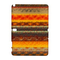 Fading Shapes Texture Samsung Galaxy Note 10 1 (p600) Hardshell Case by LalyLauraFLM