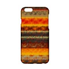 Fading Shapes Texture Apple Iphone 6 Hardshell Case by LalyLauraFLM