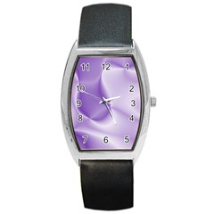 Colors In Motion, Lilac Barrel Metal Watches by MoreColorsinLife