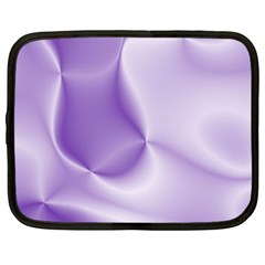 Colors In Motion, Lilac Netbook Case (xxl)  by MoreColorsinLife