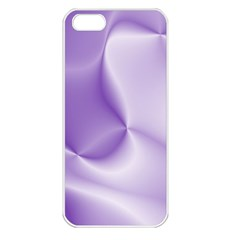 Colors In Motion, Lilac Apple Iphone 5 Seamless Case (white) by MoreColorsinLife