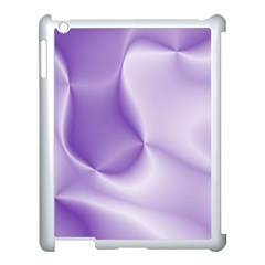 Colors In Motion, Lilac Apple Ipad 3/4 Case (white) by MoreColorsinLife