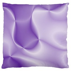 Colors In Motion, Lilac Large Flano Cushion Cases (one Side)  by MoreColorsinLife