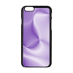 Colors In Motion, Lilac Apple Iphone 6/6s Black Enamel Case by MoreColorsinLife