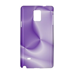 Colors In Motion, Lilac Samsung Galaxy Note 4 Hardshell Case by MoreColorsinLife