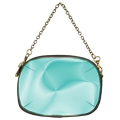 Colors In Motion,teal Chain Purses (two Sides)  by MoreColorsinLife