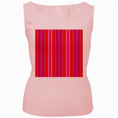 Pattern 1576 Women s Pink Tank Tops