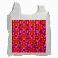 Cute Pretty Elegant Pattern Recycle Bag (two Side)