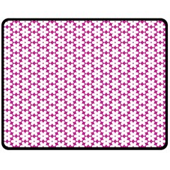 Cute Pretty Elegant Pattern Double Sided Fleece Blanket (medium)  by creativemom