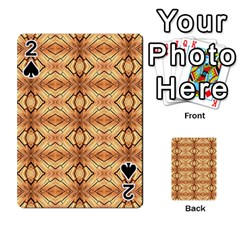 Faux Animal Print Pattern Playing Cards 54 Designs  by creativemom