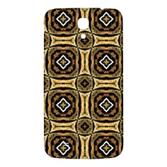 Faux Animal Print Pattern Samsung Galaxy Mega I9200 Hardshell Back Case by creativemom