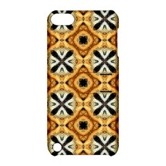 Faux Animal Print Pattern Apple Ipod Touch 5 Hardshell Case With Stand by creativemom