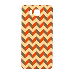 Modern Retro Chevron Patchwork Pattern  Samsung Galaxy Alpha Hardshell Back Case by creativemom