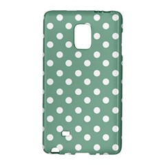 Mint Green Polka Dots Galaxy Note Edge by creativemom