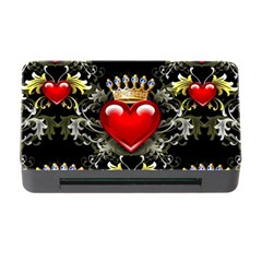 King Of Hearts Memory Card Reader With Cf by LovelyDesigns4U