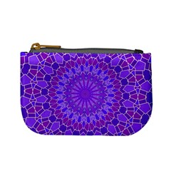 Purple Mandala Mini Coin Purses