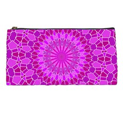 Purple And Pink Mandala Pencil Cases by LovelyDesigns4U