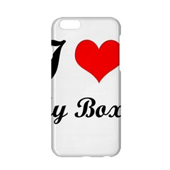 I Love My Boxer Apple Iphone 6/6s Hardshell Case by freef6