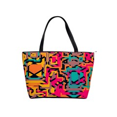 Colorful Shapes Classic Shoulder Handbag by LalyLauraFLM