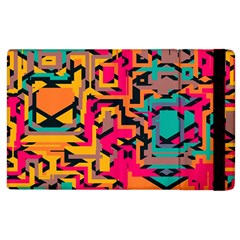Colorful Shapes Apple Ipad 3/4 Flip Case by LalyLauraFLM