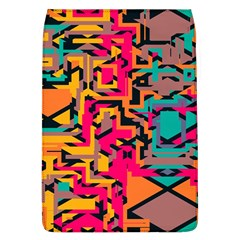Colorful Shapes Removable Flap Cover (l) by LalyLauraFLM