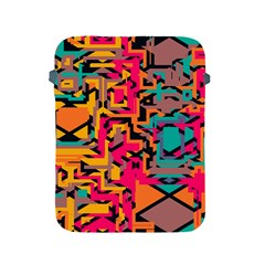 Colorful Shapes Apple Ipad 2/3/4 Protective Soft Case by LalyLauraFLM