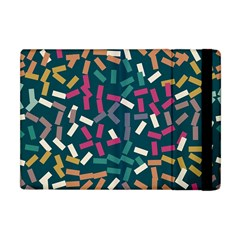 Floating Rectangles Apple Ipad Mini Flip Case by LalyLauraFLM